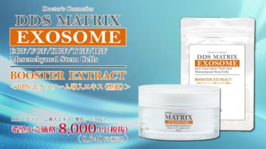 EXOSOME BOOSTER EXTRACT(DDS マトリックス エクスソソーム導入エキス【整肌】)