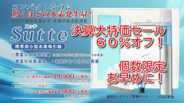 Sutte (スッテ)【決算大セール60%オフ】